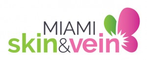 miami skin and vein - logo design