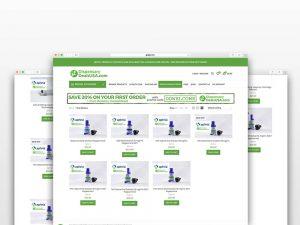 dispensary deals website design