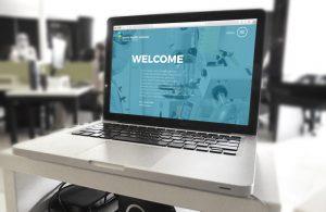 liberty health sciences website design agency