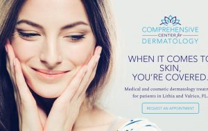 ccfd dermatologist website design tampa