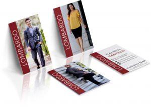 lombardo real estate business card design