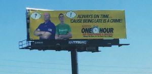 outdoor scotts one hour billboard design tampa fl
